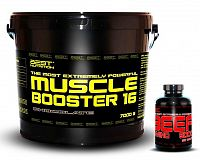 Muscle Booster + BEEF Amino Zdarma - Best Nutrition 7,0 kg + 250 tbl. Banán