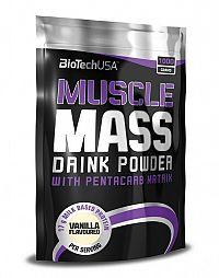 Muscle Mass od Biotech USA 4000 g sáčok Vanilka
