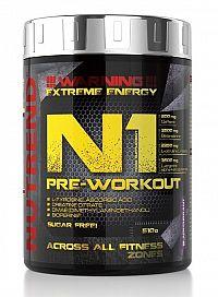 N1 Pre-Workout od Nutrend 10 x 17 g Grapefruit