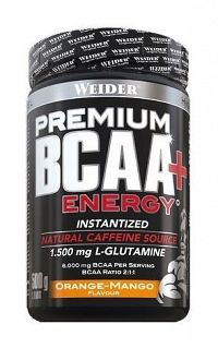 Premium BCAA + Energy - Weider 500 g Orange-Mango