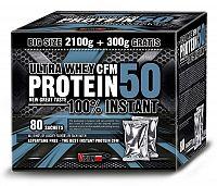 Protein 50 + originál šejkr Zdarma - Vision Nutrition 2,4 kg Mix
