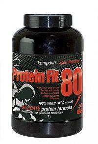 Protein Fit 80 - Kompava 2000 g Čokoláda