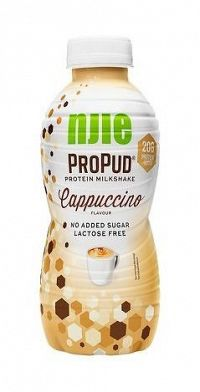 Protein Milkshake - Njie ProPud 330 ml. White Chocolate Raspberry