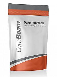Pure Iso Whey - GymBeam 2500 g Strawberry Cream