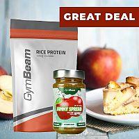 Rice Protein - GymBeam 1000 g Vanilla