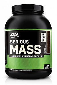Serious Mass - Optimum Nutrition 2727 g Vanilka
