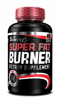 Super Fat Burner - Biotech USA 120 tbl.