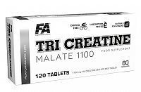 Tři Creatine Malate 1100 od Fitness Authority 120 tbl.