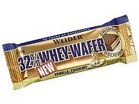 Tyčinka: 32% Whey-Wafer - Weider 35 g Hazelnut