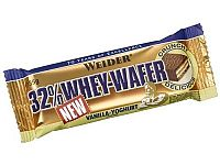 Tyčinka: 32% Whey-Wafer - Weider 35 g Stracciatella
