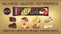 Tyčinka: Deluxe - Nutrend 60 g Čokoládová sacher torta