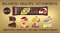 Tyčinka: Deluxe - Nutrend 60 g Jahodový cheesecake