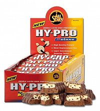 Tyčinka HY-PRO Deluxe - All Stars 1ks/100g White-Chocolate Crunch