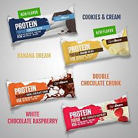 Tyčinka: Protein PureBar - GymBeam 60 g White Chocolate Raspberry