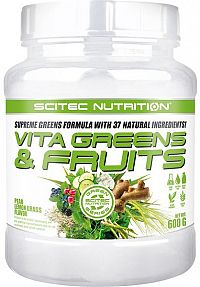 Vita Greens & Fruits od Scitec 600 g Pear+Lemon Grass