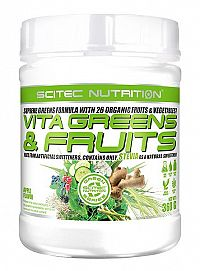 Vita Greens & Fruits with Steve od Scitec 360 g Apple