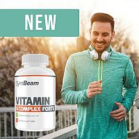 Vitamin B-Complex Forte - GymBeam 90 tbl.