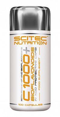 Vitamin C 1000 + bioflavonoidy - Scitec 100 kaps.
