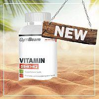Vitamin D3 + K1 + K2 - GymBeam 120 kaps.