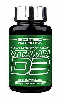 Vitamin D3 - Scitec 250 kaps.