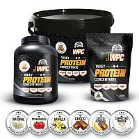 WPC Protein ochucený od Koliba Milk 2250 g Vanilka