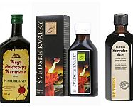 Švédské kapky – bylinné extrakty pro vnitřní i venkovní použití