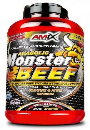 Anabolic Monster BEEF 90% Protein 1000g strawberry-banana