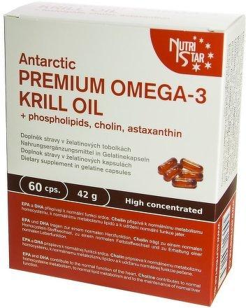 Antarctic PREMIUM OMEGA-3 KRILL OIL 60 cps.