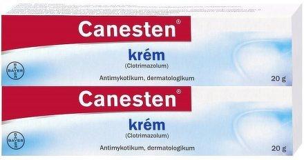 Canesten krém, crm. (1% 20g) duo pack