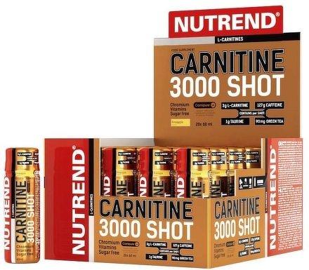 CARNITINE 3000 SHOT, 20x60 ml, ananas