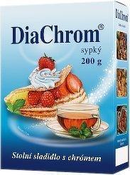 DiaChrom sypký 200g nízkokalorické sladidlo