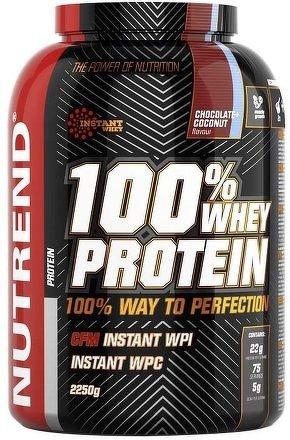 Nutrend 100% Whey Protein 2,25kg borůvka