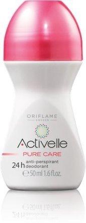 Oriflame Kuličkový antiperspirant deodorant 24h Activelle Pure Care 50ml