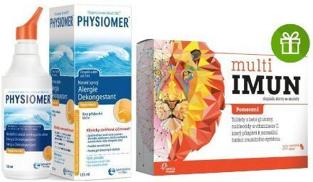 PHYSIOMER Alergie a nosní dutiny 135ml