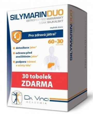 SILYMARIN DUO D.V.tob.60+30 tob ZDARMA