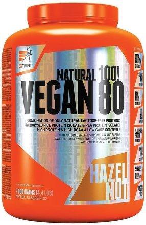 Vegan 80 2000 g lískový oříšek