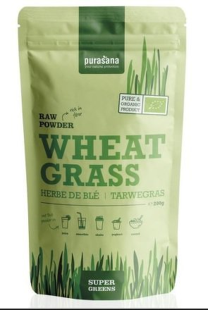 Wheat Grass Raw Powder BIO 200g