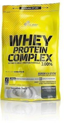 Whey Protein Complex 100%, 700 g, Olimp, Citrónový tvarohový koláč